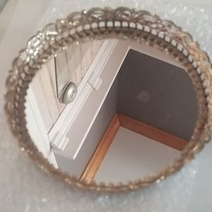 Mirrored Jewelry Tray, vintage